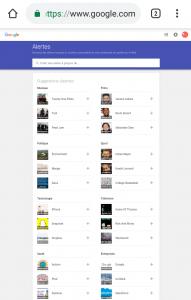 البحث عن عمل جوجل تنبيهات اعلانات google alerts